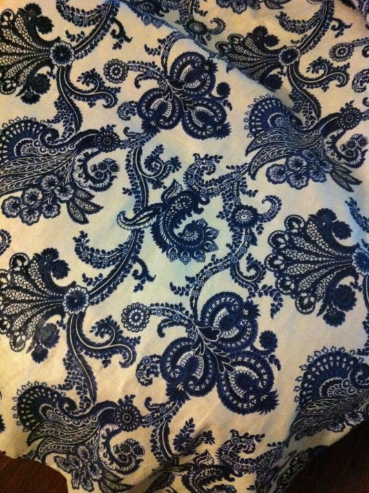 Thinking maybe this fabric?